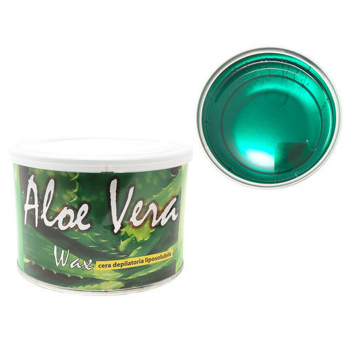 Cera epilazione liposolubile Aloe Vera Wax vaso 400 ml