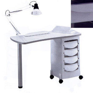 Tavolo manicure art 164L Luxe metal grey