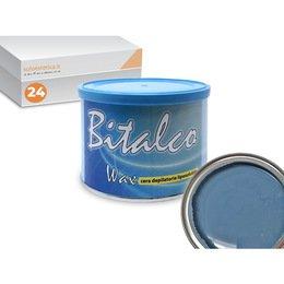Cera epilazione liposolubile Bitalco Wax 24 vasi da 400 ml cad.