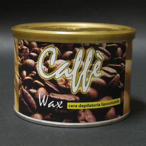 Cera epilazione Caffè Wax liposolubile vaso 400 ml.