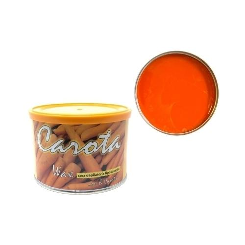 Cera epilazione Carota Wax liposolubile vaso 400 ml.