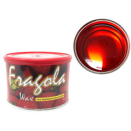 Cera epilazione liposolubile Fragola Wax vaso 400 ml