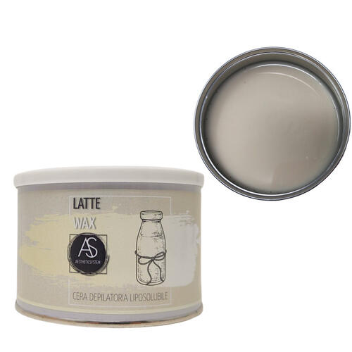 Cera epilazione liposolubile Latte Wax vaso 400 ml