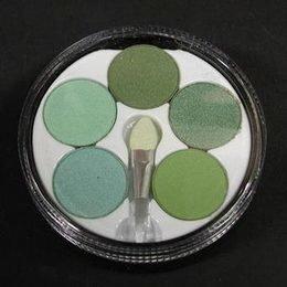 Ombretti margherita con pennellino nr. 5 verde