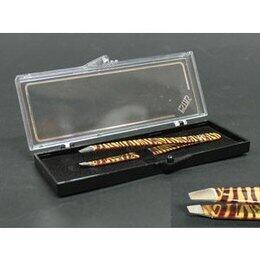 Pinzetta ciglia tigre acciaio inox taglio obliquo Estas