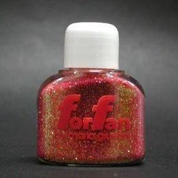 Polvere Glitter For Fan Iride Rosa/Rosso