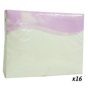 Asciugamano monouso airlaid 40x50 cm 50 pz 16 confezioni
