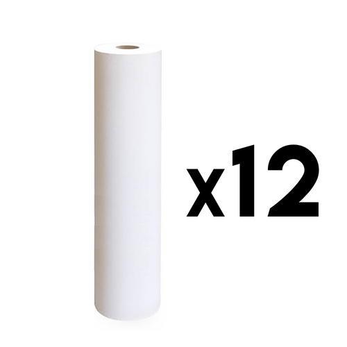 Rotolo lenzuolino due veli h 60 cm. 80 mt. 12 pz