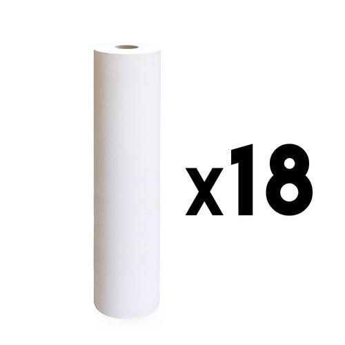 Rotolo lenzuolino due veli h 60 cm. 80 mt. 18 pz.