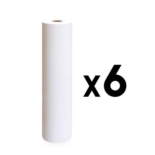 Rotolo lenzuolino due veli h 60 cm. 80 mt. 6 pezzi