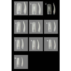 ProTip Estensioni per Unghie nr 03 Timi Nails 50 pezzi