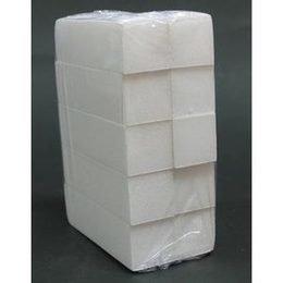 Blocchetto Levigatore Bianco 4 facce 100/100 pc. 10 pezzi