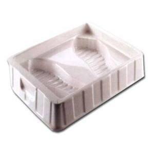 Vaschetta pedinette Bianco