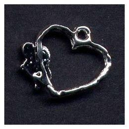 Piercing per unghie cuore a filo
