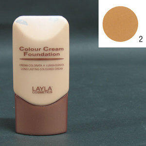 Colour Cream Foundation a lunga durata nr. 2 Layla 30 ml