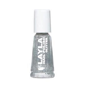 Smalto per Unghie Glitter Argento Layla 10 ml