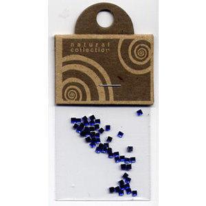 Brillantino quadrato blu Natural Collection bustina