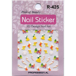 Nail Sticker decoro per unghie R-425