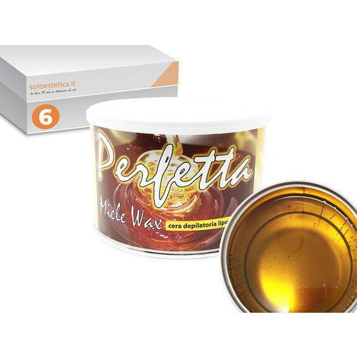 Cera epilazione Perfetta 6 vasetti da 400 ml. liposolubile