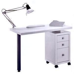 Tavolo manicure art 304L bianco