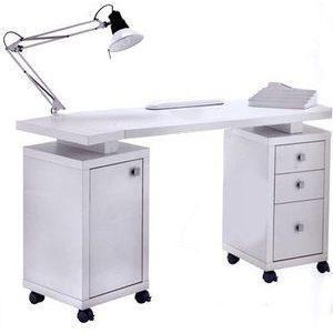 Tavolo manicure art 317L bianco