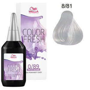 Color Fresh 8/81 argento Wella 75 ml