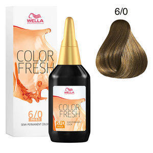 Colorazione Diretta Color Fresh acid 6/0 Wella 75 ml