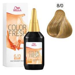 Color Fresh acid 8/0 Wella 75 ml New