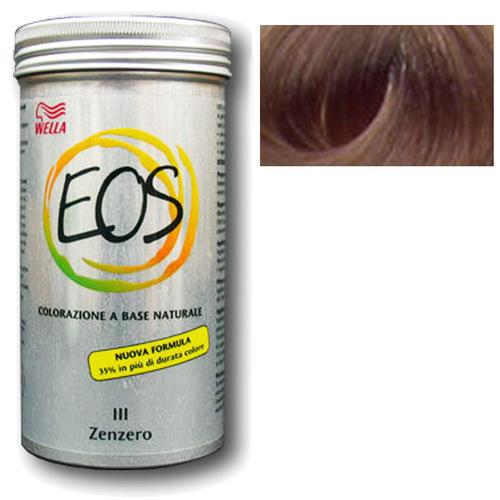 Colorazione a base naturale Eos zenzero 120 gr