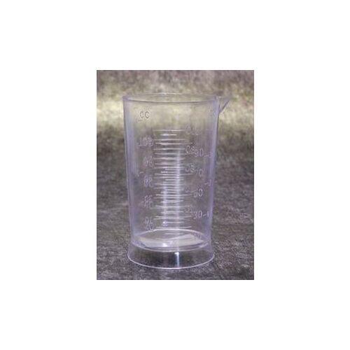 Misurino graduato in plastica trasparente 100 ml