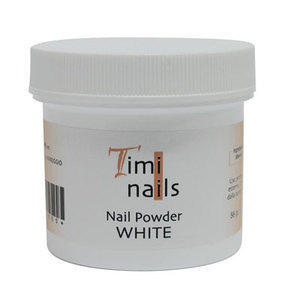 Timi Nails Nail Powder White 56 gr