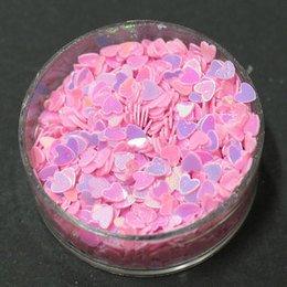 Decori ultrasottili cuori rosa MY vasetto