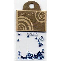 Natural Collection Brillantino unghie cuore azzurro