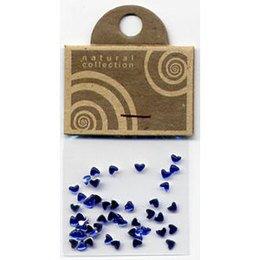 Natural Collection Brillantino unghie cuore blu