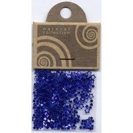 Natural Collection Decoro unghie stelle traforati blu