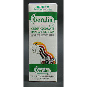 Crema colorante rapida e delicata Goralin bruno 30 ml