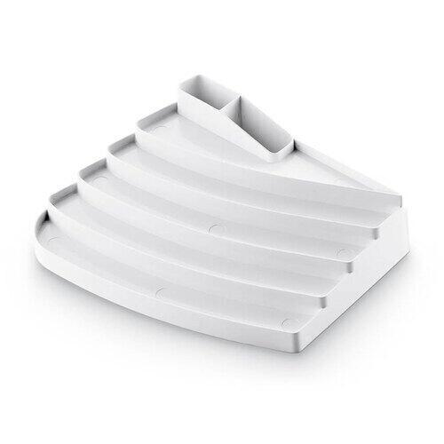 Portasmalti in ABS bianco art 1011