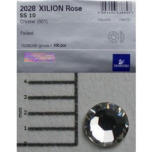 Brillantini Swarovski 100 pz. crystal SS10