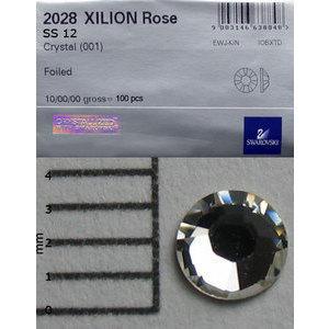 Brillantini Swarovski 100 pz. crystal SS12