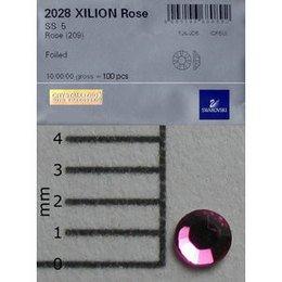 Brillantino Swarovski SS5 Rose 100 pz busta