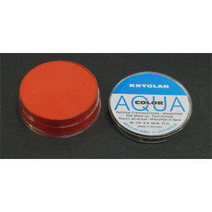 AQUA COLOR MAT Arancio 032 Kryolan 8 ml