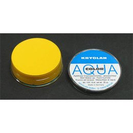 AQUA COLOR MAT Giallo 509 Kryolan 8 ml