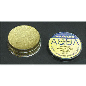 AQUA COLOR METAL Oro/Gold Kryolan 8 ml