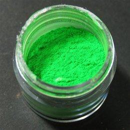 Polvere Colorata Verde per Gel Roby Nails