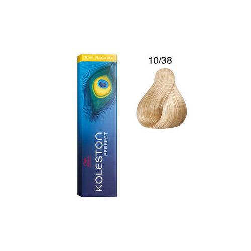 Tintura per capelli Koleston Perfect ME+ 10/38 60 ml Wella
