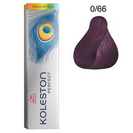 Tintura per capelli Koleston Perfect 0/66 60 ml Wella