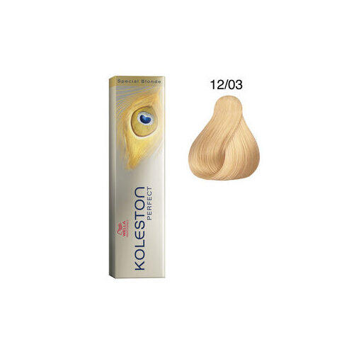 Tintura per capelli Koleston Perfect ME+ 12/03 60 ml Wella