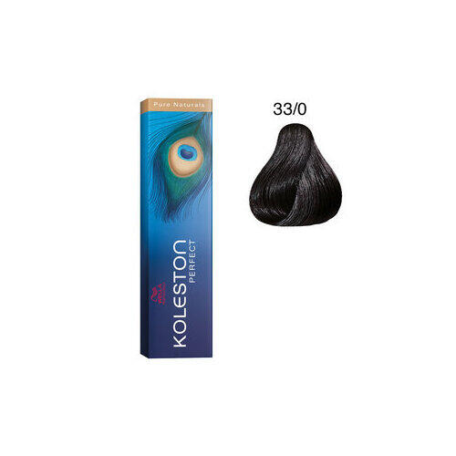 Koleston Perfect 33/0 Pure Natural 60 ml Wella castano scuro intenso