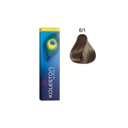 Koleston Perfect 6/1 Rich Naturals 60 ml Wella biondo scuro cenere