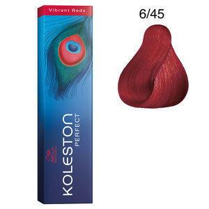 Koleston Perfect 6/45 Vibrant Red 60 ml Wella biondo scuro rame mogano
